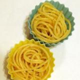 お弁当に☆ふりかけで作るたらこスパゲティ