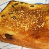 シナモンレーズンバタートースト