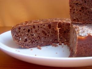 炊飯器で楽チン!チョコケーキ♪