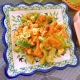 ゴーヤと京揚げの豆腐乳チャンプルー