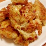 簡単★おつまみ★とりむね肉の洋風チーズパン粉焼き