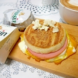 ハムチーズエッグマフィン ホットサンド