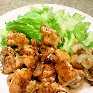 鶏もも肉のバルサミコ酢のソテー