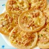 【お手伝いレシピ】ツナサラダのピザ風トースト