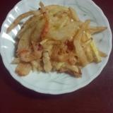 さつま芋と玉葱のかき揚げ