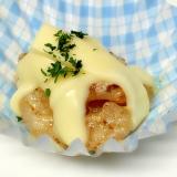 お弁当♪エビのマヨネーズ焼きにチーズのせちゃった♪