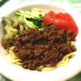 夏野菜のジャージャー麺