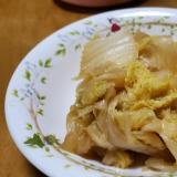 白菜のバター醤油炒め