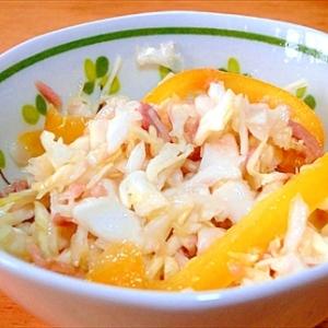 超簡単節約レシピ『キャベツとツナの美味しいサラダ』