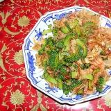 ゴウヤと豚肉の味噌炒め
