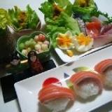 手まり寿司(ひな祭りレシピその5)