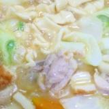 【鶏モモ肉と麺】ほうとう