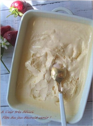 ひんやり冷た~い手作りアイス・バニラアイスクリーム