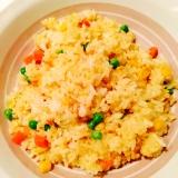 家にあるもので☆ミックスベジタブルのカレー炒飯