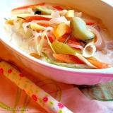 牛乳を使わない♪濃厚クリーム野菜スープ