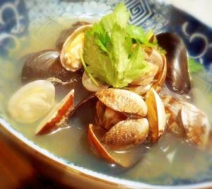 貝の酒蒸し レシピ・作り方 by k5b4 楽天レシピ