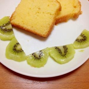 水切りヨーグルトinパウンドケーキ