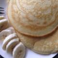 米粉で作るもっちりヨーグルトパンケーキ♪
