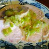【低糖質】簡単ヘルシー中華風とり胸肉冷菜ネギソース