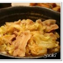 豚肉とキャベツの和風だし煮