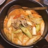 寒い日に!コクうま簡単チゲ鍋