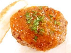カロリーオフ★鶏肉とおからの和風ハンバーグ