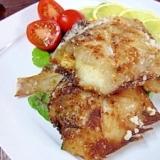 フライパンが簡単☆ 塩麹「カレイ唐揚げ」