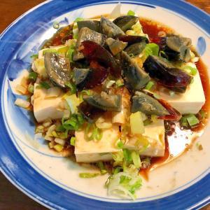 おつまみに☆ピータン豆腐
