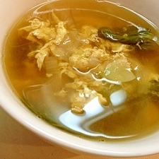 ささっと作れる中華風スープ