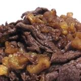 保存食に 白ゴーヤと牛肉のしぐれ煮
