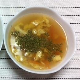 フンワリ卵の♪ちょっと和風なコンソメスープ☆