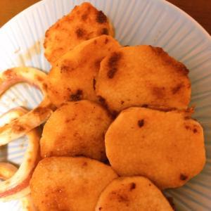 山芋のニンニク醤油焼き