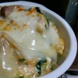 豆腐で簡単クリームドリア