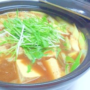 水菜がおすすめ♪カレー鍋