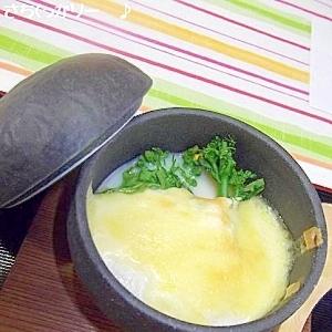 菜の花の豆腐グラタン