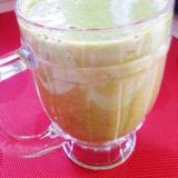 チンゲン菜×バナナ×スイカでグリーンスムージー
