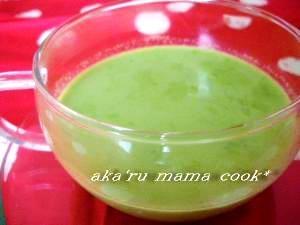 ほうれん草のスープ♪