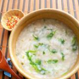 冷ご飯で簡単♪松茸お吸い物の素で七草粥
