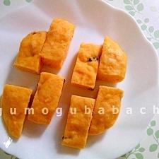 野菜のおやつ♡人参の蒸しパン