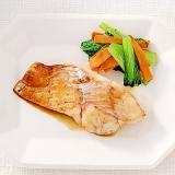 白身魚の酢じょうゆ焼き