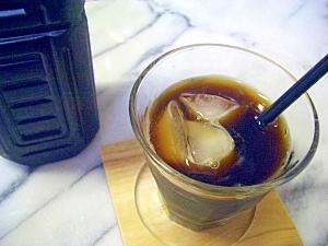 インスタントで加糖アイスコーヒー♪経済的に作り置き