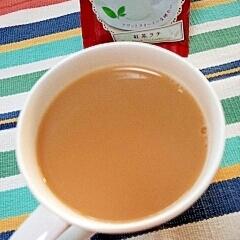 ホッと☆クリーミーきなこ紅茶ラテ♪