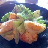 デリ ブロッコリーとえびと卵のサラダ