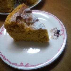 ノンオイル・フラワーおからde素朴なかぼちゃケーキ