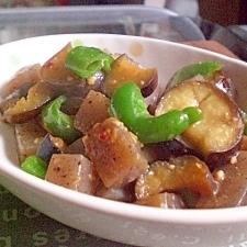 ●焼肉のたれで簡単美味☆野菜とこんにゃくの炒め物●