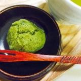 なんちゃって和菓子☆白餡入り柔らか抹茶しぐれ