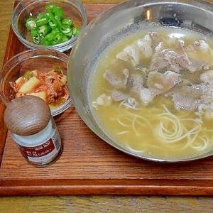 専門店の味☆「ソルロンタン」
