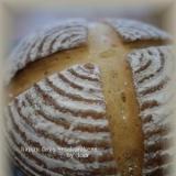 フランスパン粉で♪カンパーニュ