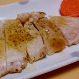 トンテキ☆レモンバターソース