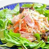 白身魚のピリ辛サラダ